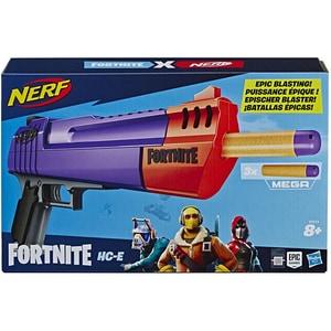Blaster NERF Fortnite HC-E E7515, 8 ani+, mov-portocaliu