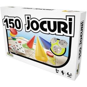 Joc de societate NORIEL 150 de jocuri intr-unul singur NOR 1414, 5 ani+, 2-8 jucatori