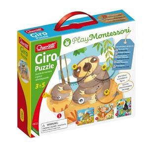 Puzzle QUERCETTI Giro Q0611, 3 - 5 ani, 44 piese