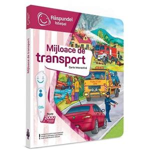 Carte interactiva RASPUNDEL ISTETEL Mijloace de transport 28734, 3 ani+, multicolor