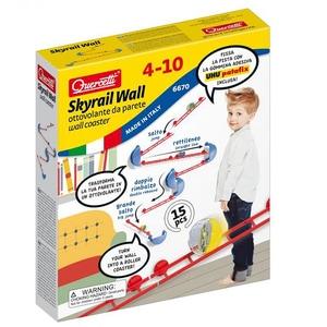 Joc constructie QUERCETTI Skyrail XL Wall Q6670, 4 - 10 ani, 15 piese