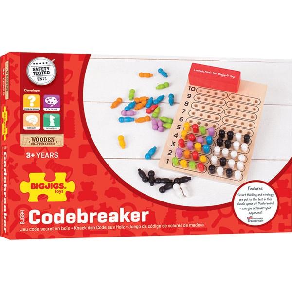 Joc de logica BIGJIGS Codebreaker BJ694, 3 ani+
