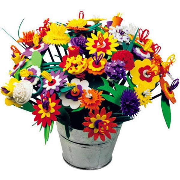 Set creativ EDU CLASS Buchetul de flori EDU001, 5 ani+, multicolor
