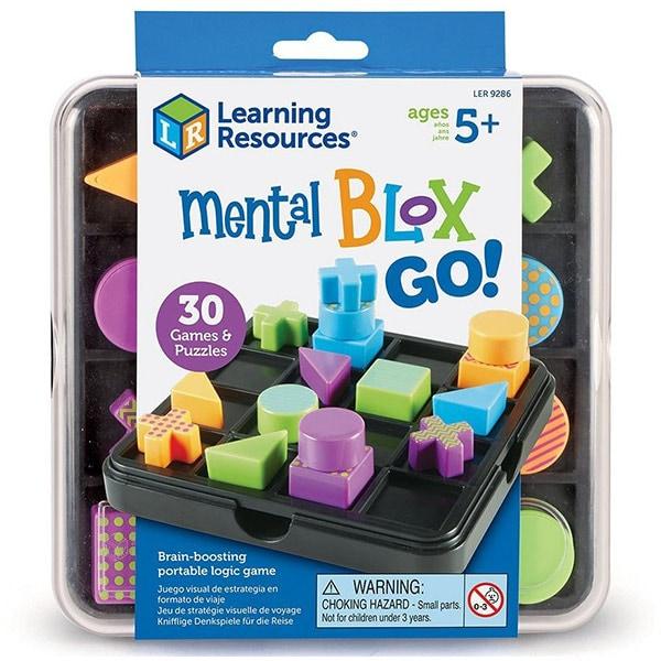 Joc de logica LEARNING RESOURCES Mental Blox Go LER9286, 5 - 9 ani, multicolor