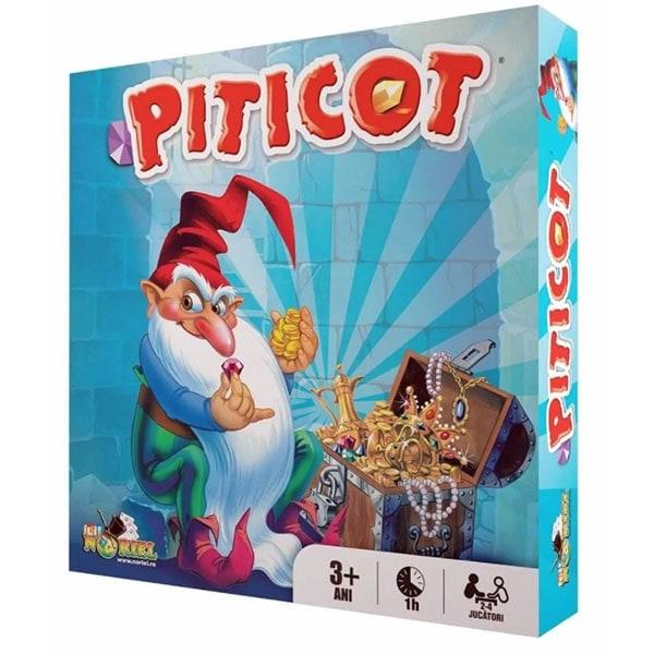 Joc de societate NORIEL Comoara Lui Piticot NOR1986, 3 ani+, 2-4 jucatori