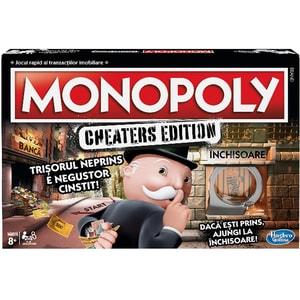 Joc de societate HASBRO Monopoly Cheaters RO E1871, 8 ani+, 2-6 jucatori