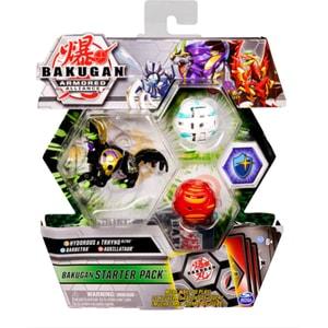 Set figurine BAKUGAN Starter Pack - Barbetra, Auxillataur si Hydorous Trhyno Ultra 6055886_20125406, 6 ani+, multicolor