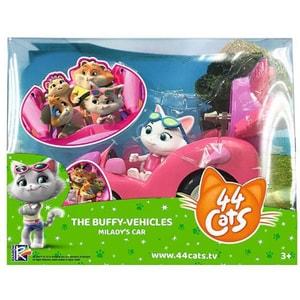 Figurina SIMBA 44 Cats Milady 7600180211, 3 ani+, roz-alb