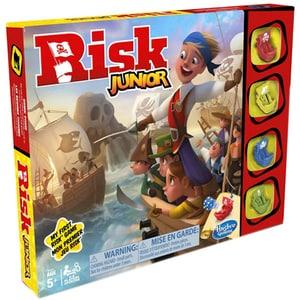 Joc de societate HASBRO Risk Junior E6936, 5 ani+, 2-4 jucatori