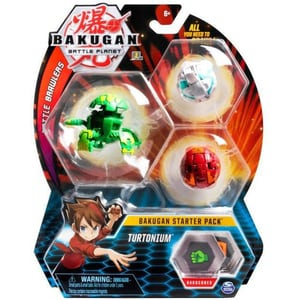 Set figurine BAKUGAN Starter Pack - Turtonium 20109156, 6 ani+, multicolor