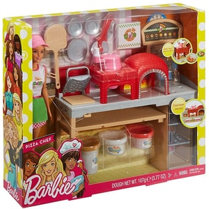Papusa BARBIE Pizzerie MTFHR09, 3 ani+, multicolor