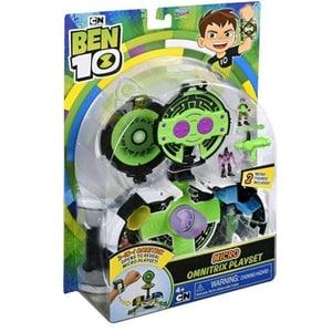 Set figurine BEN 10 Micro World Omnitrix 77720, 4 ani+, multicolor