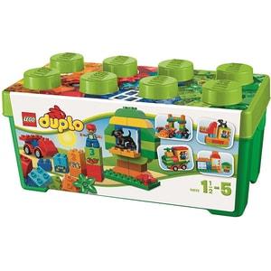 LEGO Duplo: Cutie completa pentru distractie 10572, 1.5 - 5 ani, 65 piese