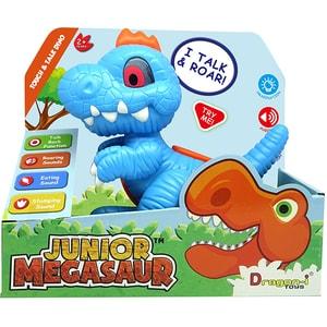 Jucarie interactiva DRAGON-I Dinozaur Junior 16919, 2 ani+, albastru-portocaliu