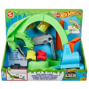 Pista HOT WHEELS Toxic Snake Strike MTGTT93, 5 ani+, multicolor