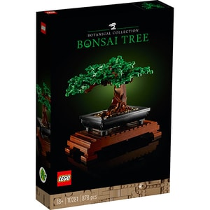 LEGO Creator: Copac bonsai 10281, 18 ani+, 878 piese