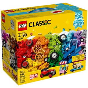 LEGO Classic: Caramidute in miscare 10715, 4 ani+, 442 piese