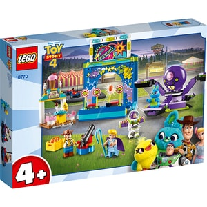 LEGO Toy Story: Carnavalul lui Buzz si Woody 10770, 4 ani+, 230 piese