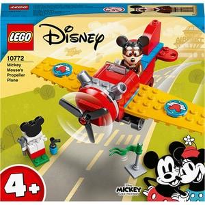 LEGO Mickey and Friends: Avionul cu elice al lui Mickey Mouse 10772, 4 ani+, 59 piese