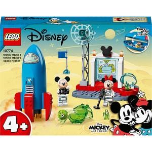 LEGO Mickey and Friends: Racheta spatiala a lui Mickey Mouse si Mickey 10774, 4 ani+, 88 piese