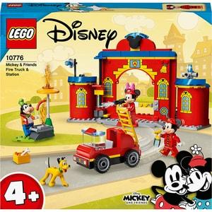 LEGO Mickey and Friends: Statia si camionul de pompieri ale lui Mickey 10776, 4 ani+, 144 piese