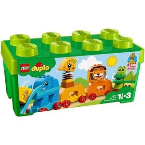 LEGO Duplo: Prima mea cutie de caramizi cu animale 10863, 1.5 - 3 ani, 34 piese
