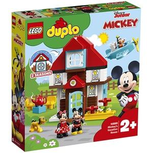LEGO Duplo: Disney - Casa de vacanta a lui Mickey 10889, 2 ani+, 57 piese