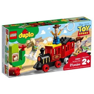 LEGO Duplo: Trenul Toy Story 10894, 2 ani+, 21 piese
