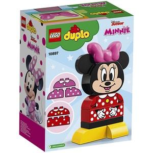 LEGO Duplo: Prima mea constructie Minnie 10897, 1.5 ani+, 10 piese