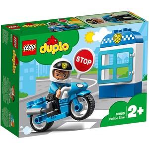LEGO Duplo: Motocicleta de politie 10900, 2 ani+, 8 piese