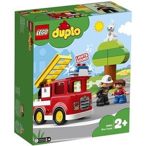 LEGO Duplo: Camion de pompieri 10901, 2 ani+, 21 piese