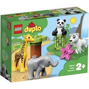 LEGO Duplo: Pui de animale 10904, 2 ani+, 9 piese