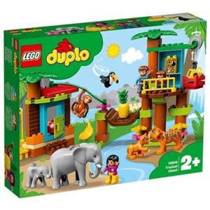 LEGO Duplo: Town Insula tropicala 10906, 2 ani+, 73 piese