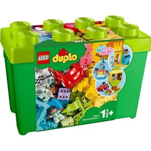 LEGO Duplo: Cutie Deluxe in forma de caramida 10914, 18 luni+, 85 piese