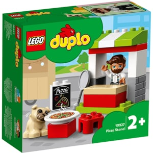 LEGO Duplo: Stand cu pizza 10927, 2 ani+, 18 piese