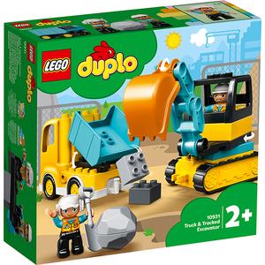 LEGO Duplo: Camion si excavator pe senile 10931, 2 ani+, 20 piese