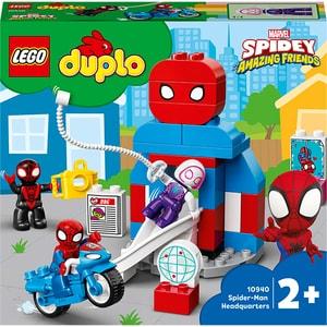 LEGO DUPLO: Cartierul general al Omului Paianjen 10940, 2 ani+, 36 piese