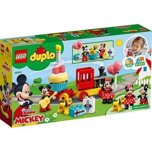 LEGO Duplo: Trenul zilei aniversare Mickey si Minnie 10941, 2 ani+, 22 piese