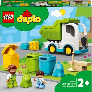 LEGO DUPLO: Autogunoiera si reciclare 10945, 2 ani+, 19 piese