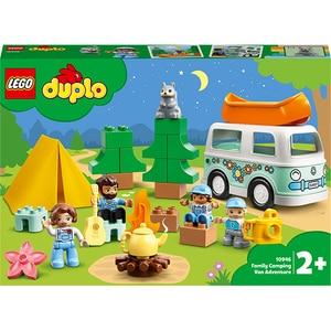 LEGO DUPLO: Aventura cu rulota de vacanta a familiei 10946, 2 ani+, 30 piese