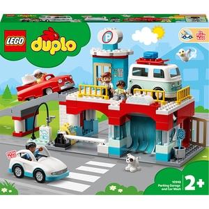 LEGO DUPLO: Garaj si spalatorie de masini 10948, 2 ani+, 112 piese