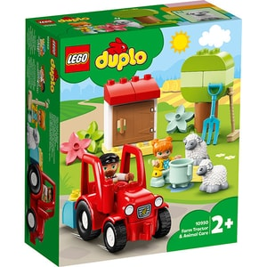 LEGO Duplo: Tractor agricol 10950, 2 ani+, 27 piese