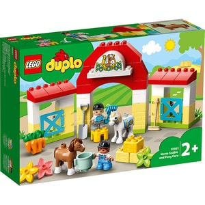 LEGO Duplo: Grajdul poneilor 10951, 2 ani+, 65 piese