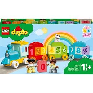 LEGO DUPLO: Trenul cu numere - invata sa numeri 10954, 1.5 ani+, 23 piese