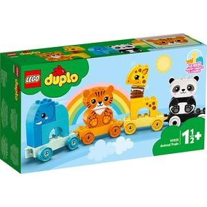 LEGO Duplo: Primul meu tren cu animale 10955, 18 luni+, 15 piese