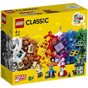 LEGO Classic: Ferestre de Pentru creativitate 11004, 4 ani+, 450 piese