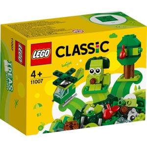 LEGO Classic: Caramizi creative verzi 11007, 4 ani+, 60 piese