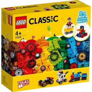 LEGO Classic: Caramizi si roti 11014, 4 ani+, 653 piese