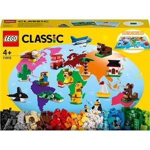 LEGO Classic: In jurul lumii 11015, 4 ani+, 950 piese