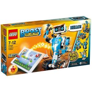LEGO Boost: Cutie creativa de unelte 17101, 7 - 12 ani, 847 piese